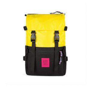 topo designs sac à doc jaune noir
