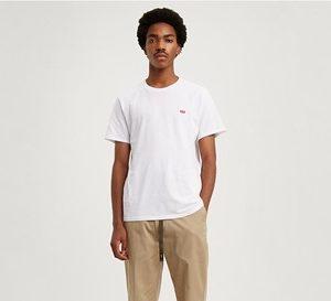 levi's white t-shirt basic