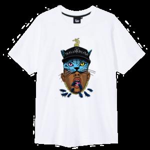t-shirt tyler the creature tealer white