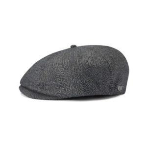 brixton snap grey black