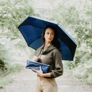 parapluie bleu mini
