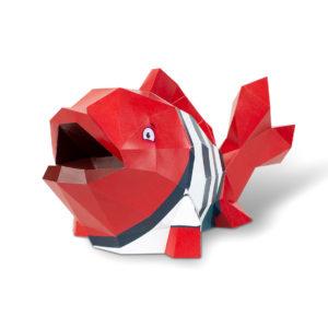 objet 3D poisson agent paper