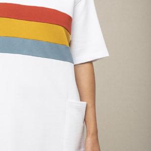robe fleuve graine long t-shirt
