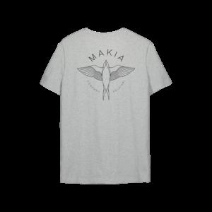 swallow t-shirt gris grey makia ss21