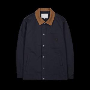 dock jacket bleu foncé makia ss21