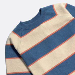 t-shirt newport ending blue arabesque far afield SS21