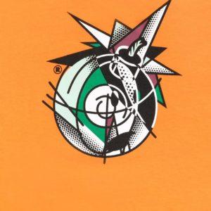 roy adam t-shirt orange the hundreds ss21