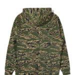 SWeat bravo pullover tiger camo the hundreds ss21