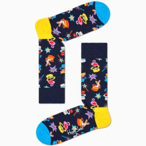 magic sock black happy socks