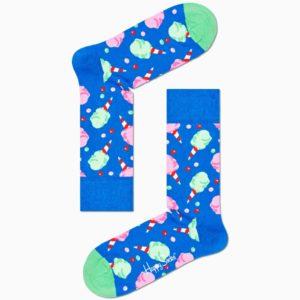 cotton candy sock happy socks