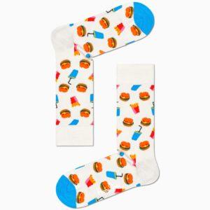 burger socks happy socks