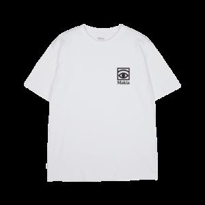 t-shirt ogon olle eksell makia white